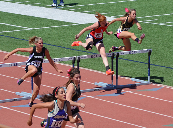 Henrietta athletes compete in regional track and field