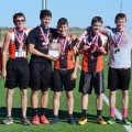 Petrolia's variety boys cross country team took second place in the district meet to qualify for regionals on Saturday.