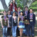 Henrietta High School students who competed at the state UIL Academics competition are (top) Danielle Holmes, (bottom) Katelyn Suneson, Amber Dillaman, Krystal DeLucio, Nathan Clark, Miranda Flores, Quint Lewis and Matthew Mitchell.